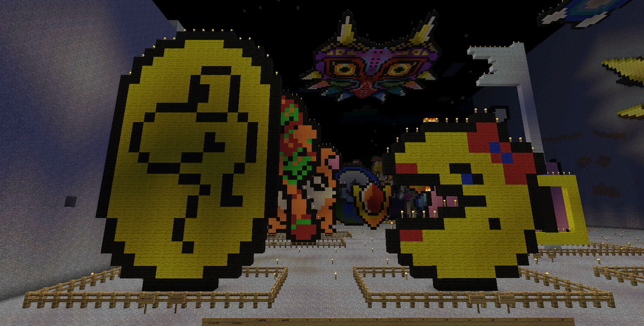 Ms Pacman And Dragon Coin Minecraft By BakaHentai90 On