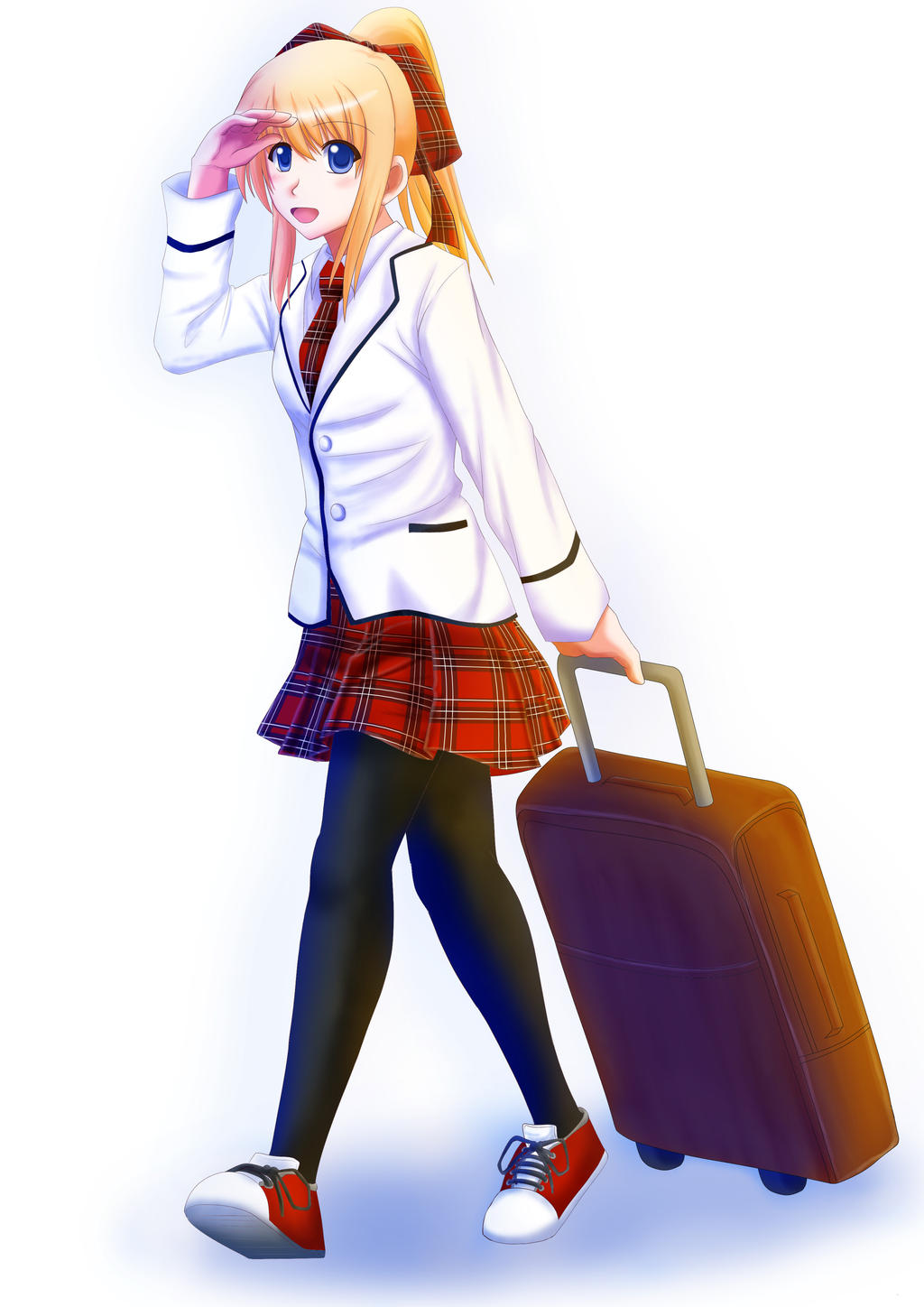 Ran Goes to School by Mizuhara-Yuki
