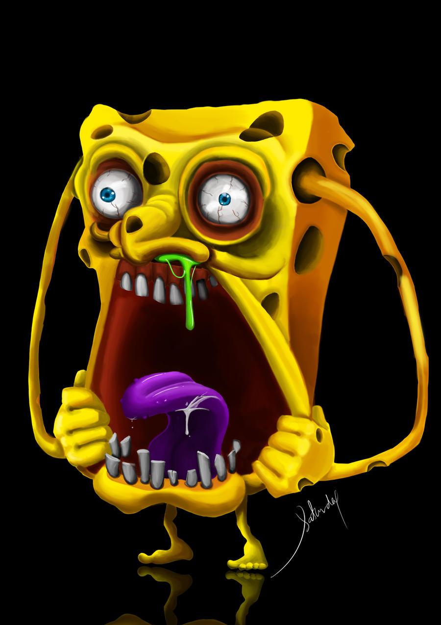 Gambar Spongebob Zombie Hd Arini Gambar