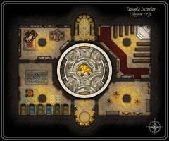 Temple Interior by FoundryAtropos