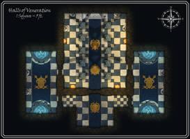 Hall-of-veneration by FoundryAtropos