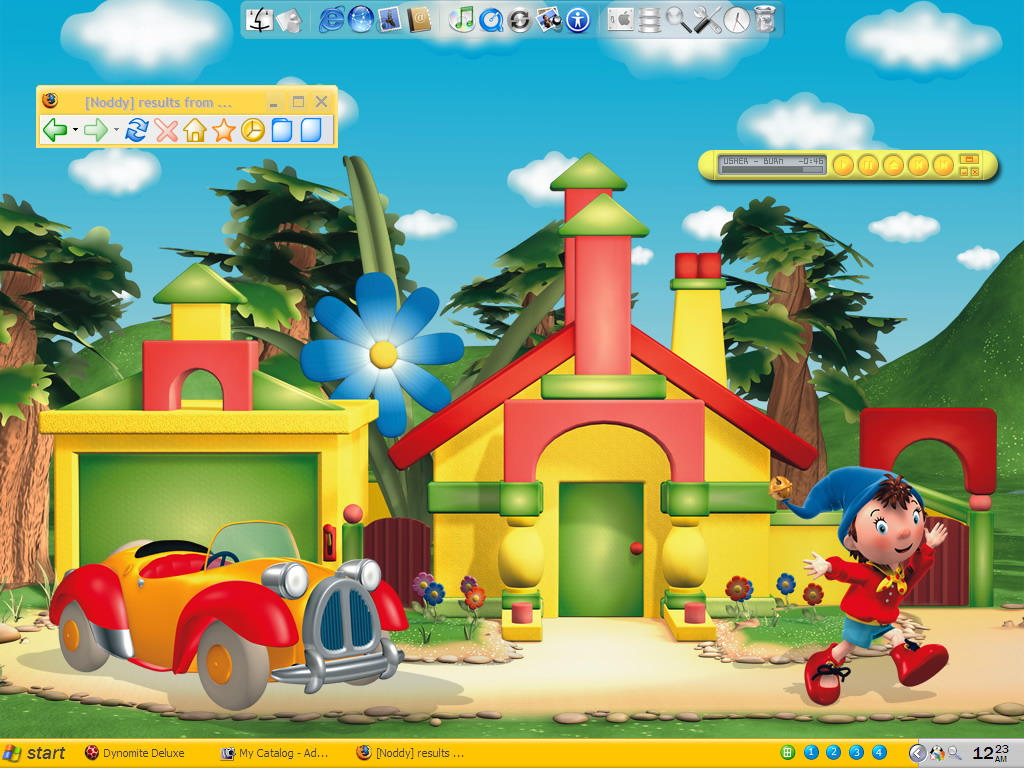 Noddy cartoon wallpaper the image kid for Wallpaper home cartoon