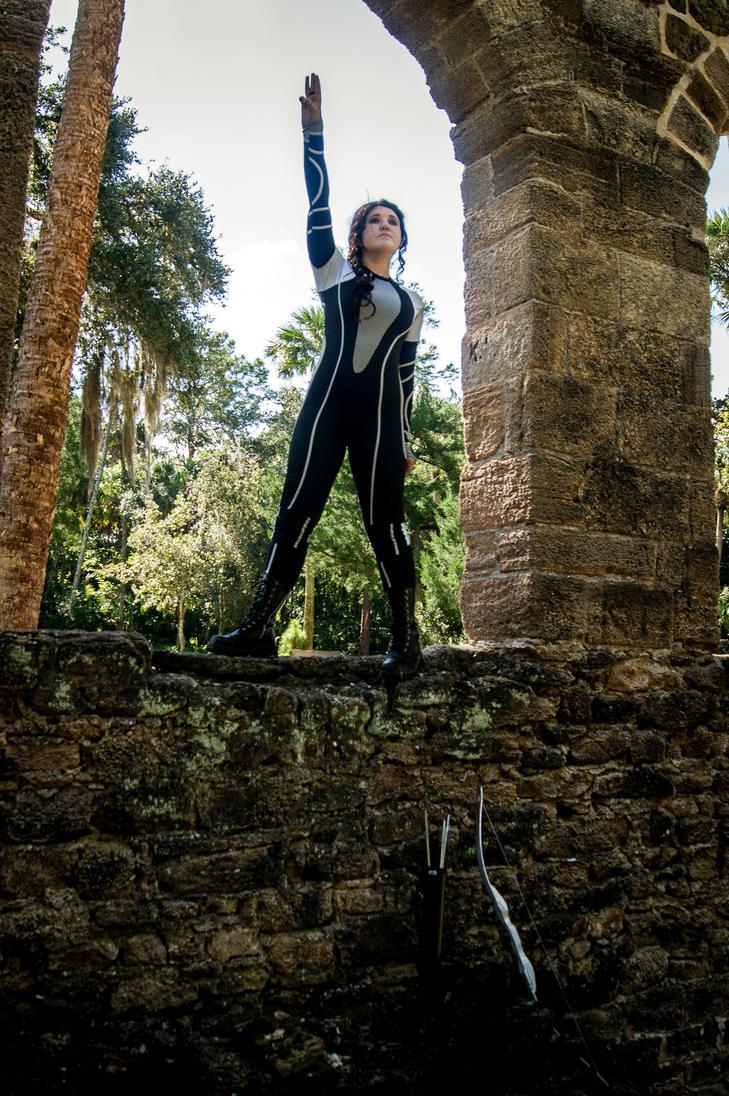 Catching Fire Katniss 8 by BlueeyesDante