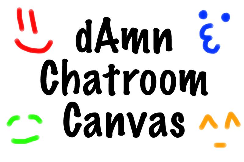 dAmn Chatroom Canvas by sumopiggy