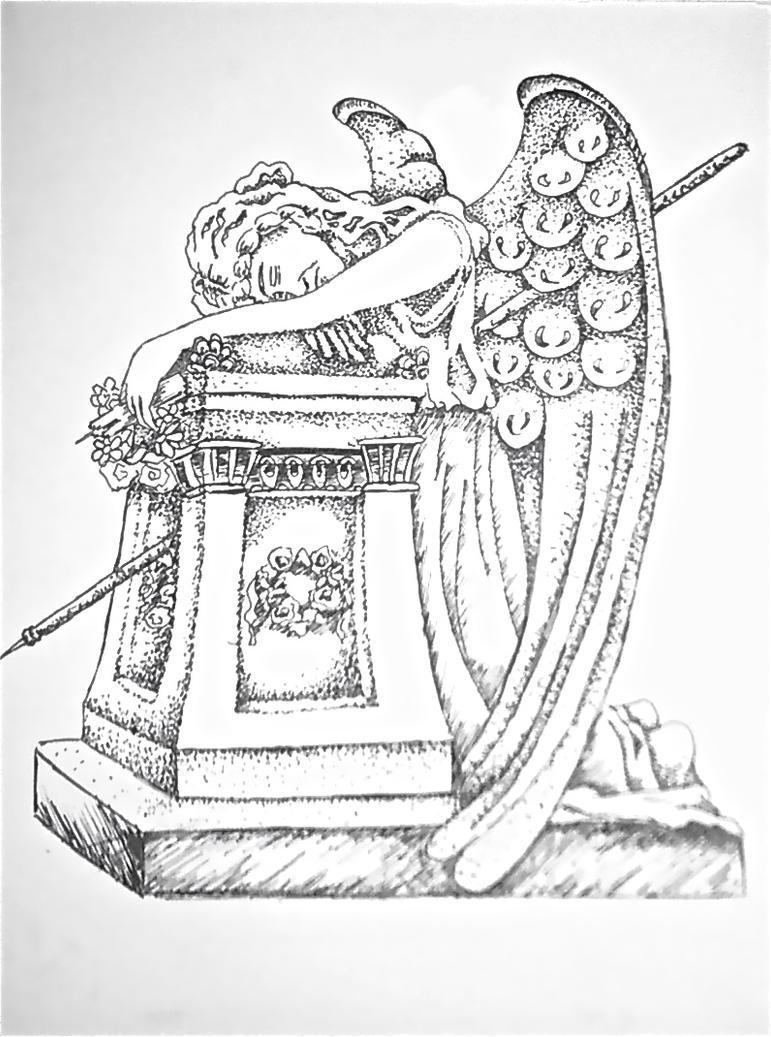 Gravestone Drawing
