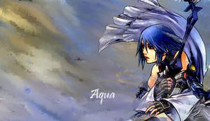 Aqua from Kingdom Hearts