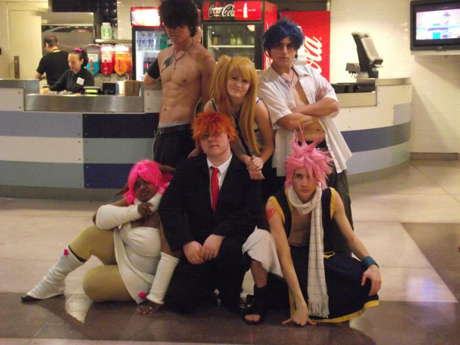 Fairy Tail Cosplay New York Comic Con 2012 By SpiderNhan