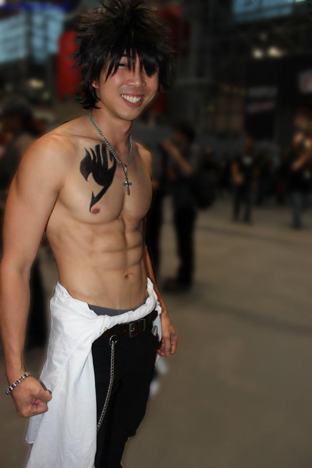 Gray Fullbuster - Fairy Tail Cosplay, NYCC 2013
