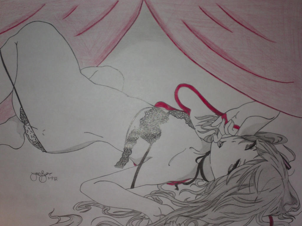Hatsune miku (echii~) by leodiaz100