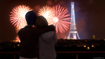 Max and Chloe in Paris together