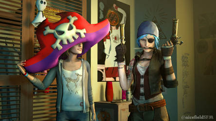 Max and Chloe gearing up for Halloween again