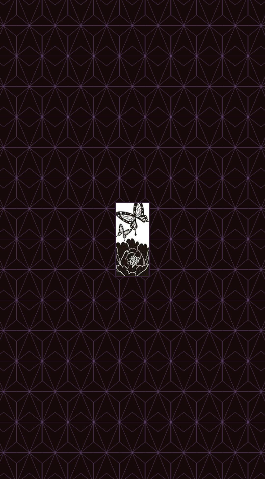 Kimetsu No Yaiba Pattern 1080p Mobile Wallpaper By Darkmesah On