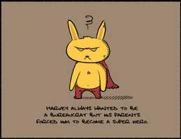 Harvey the supa bunny