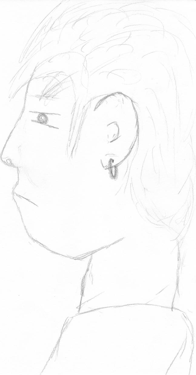 Profile Sketch by Foodgiver