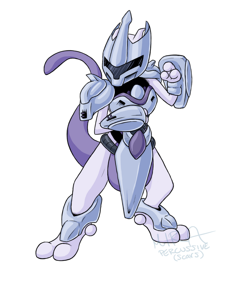 Pokemon Mewthree Mewtwo (Armored...