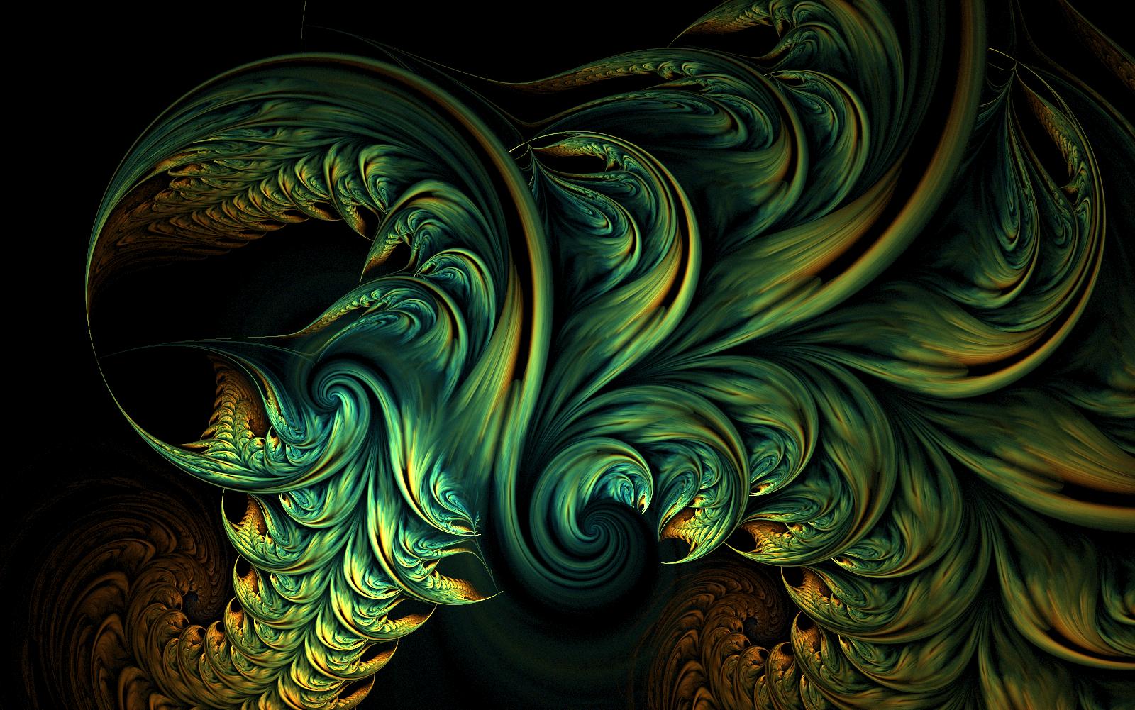 Green Dragon Fire by riverfox1