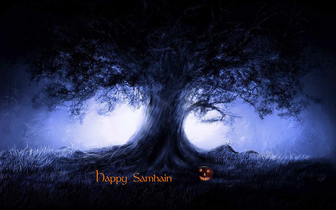 Happy Samhain by riverfox1