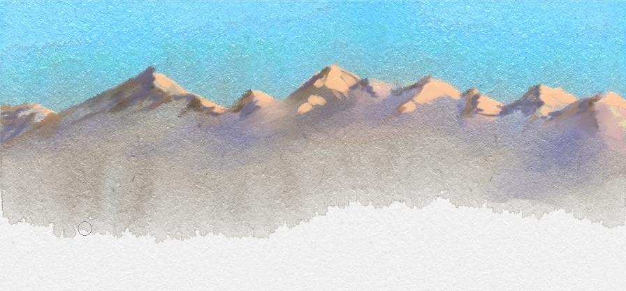 Mountain Range by riverfox1