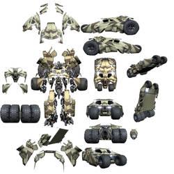Tumbler Armor Custom Design Part Sheet