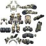 Tumbler Armor Custom Design Part Sheet by phantro