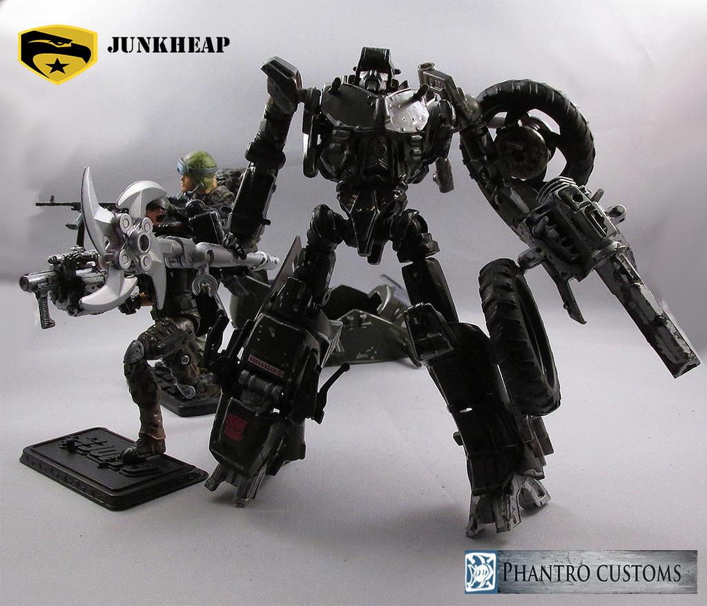 GI Joe transformers crossover junkheap snarler