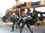 Eagle hawk 3D printed machine gun 20