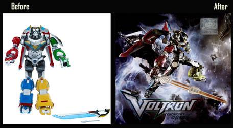 Voltron Legenday defender 7 by phantro