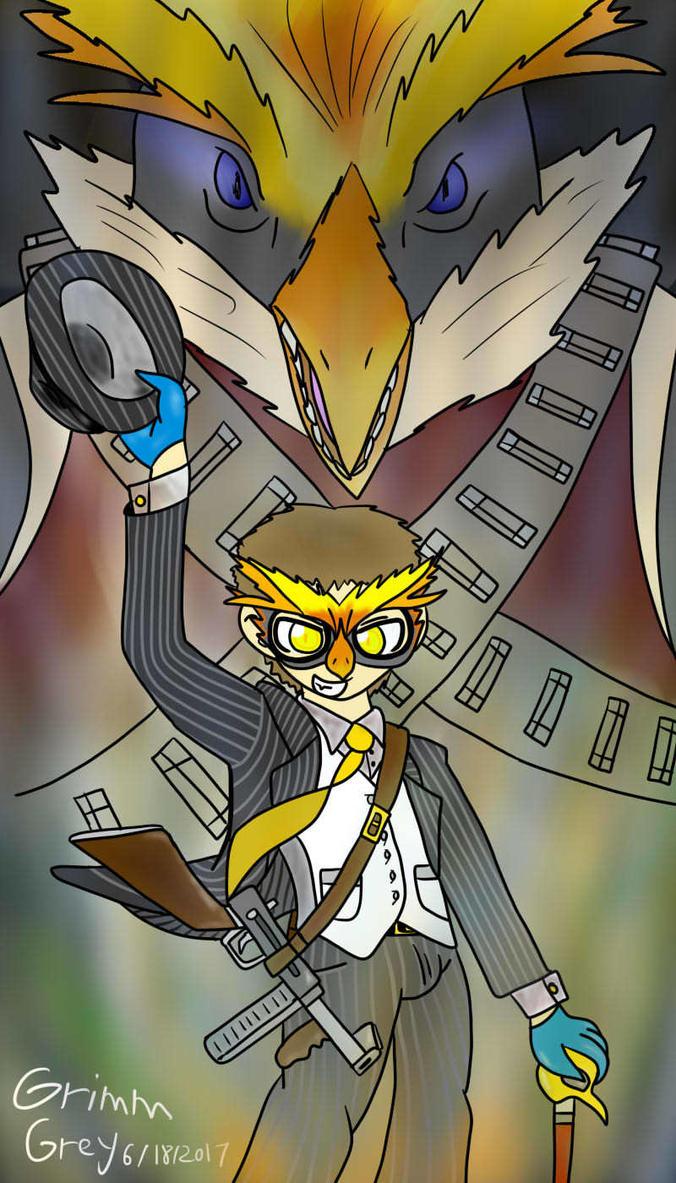 NicoB Persona 5 Art Contest Entry by GrimmCorneliusGrey