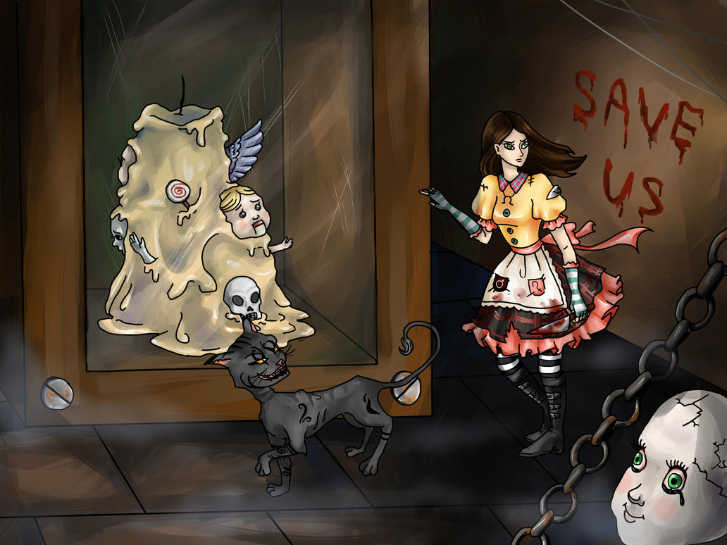 Be careful, Alice ... by SashaAlice
