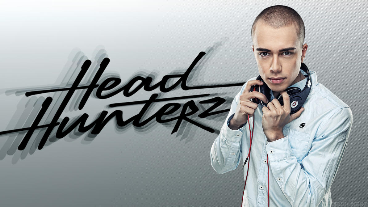 headhunterz logo wallpaper