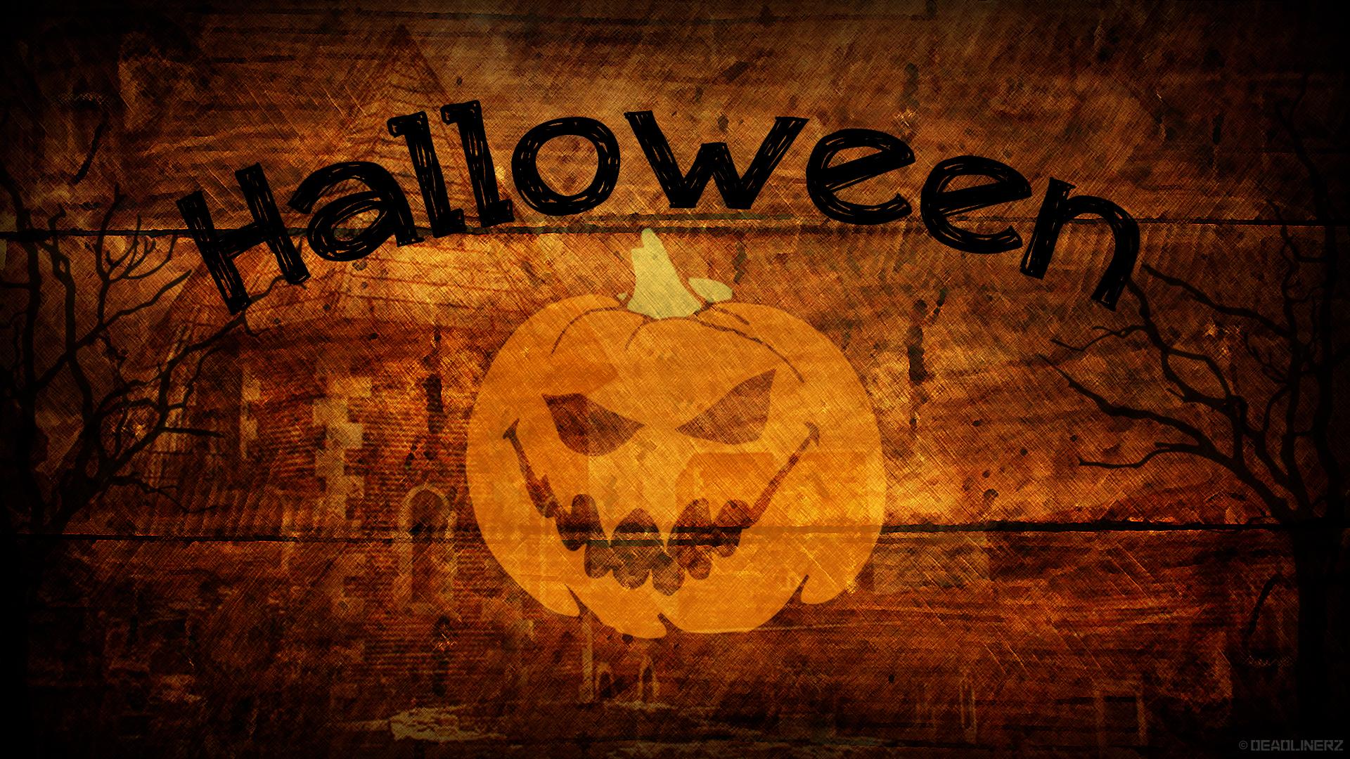 Halloween Wallpaper by DeadLinerz