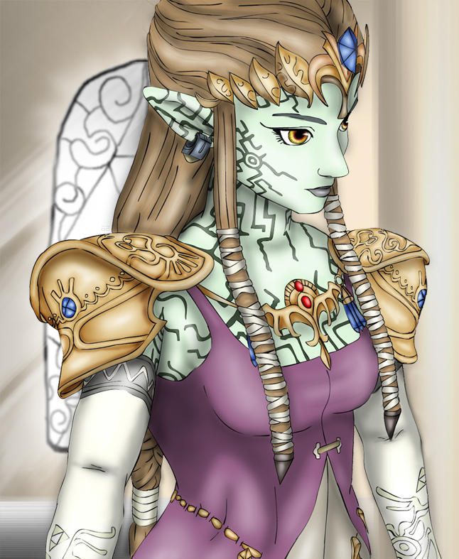 Puppet Zelda by Lady-of-Link