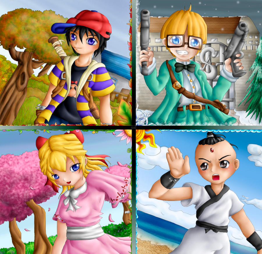 Seasons Of Earthbound By Lady Link
