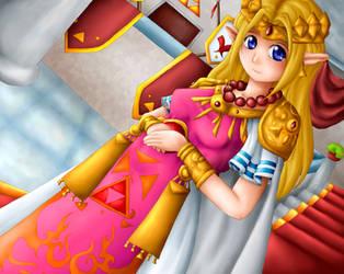 ALttP: Princess Zelda by Lady-of-Link