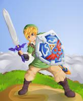 Skyward Sword: Link by Lady-of-Link
