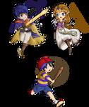 Smash Bros. Chibis