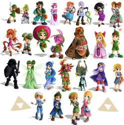 25 days of Zelda: Finished by Lady-of-Link