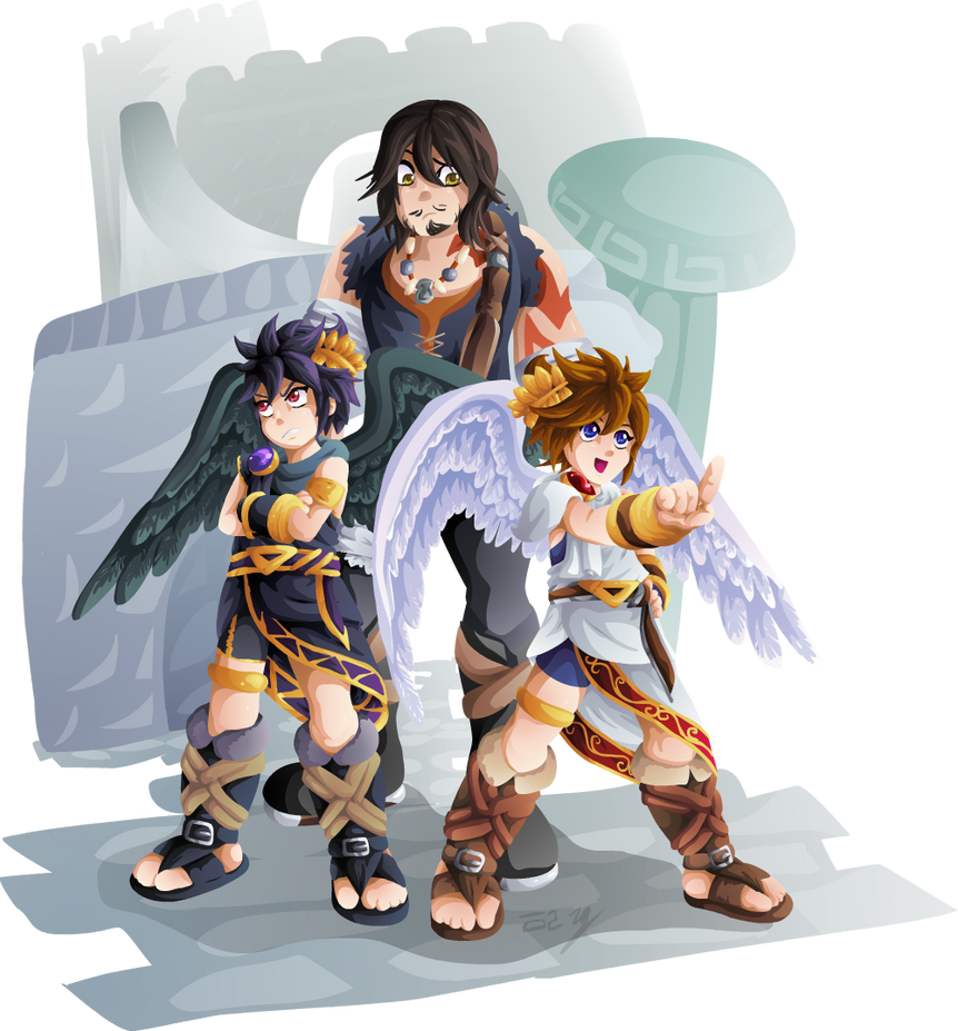 Uprising Trio By Lady Of Link