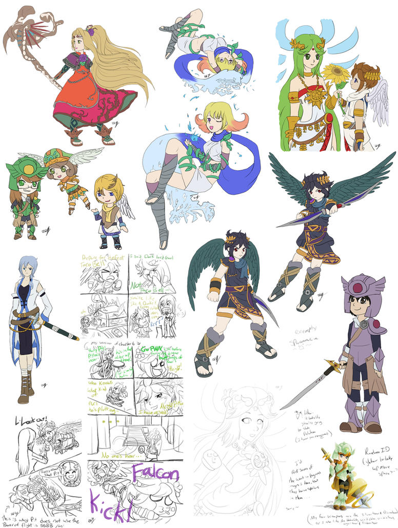 Kid Icarus Uprising Requests By Lady Of Link