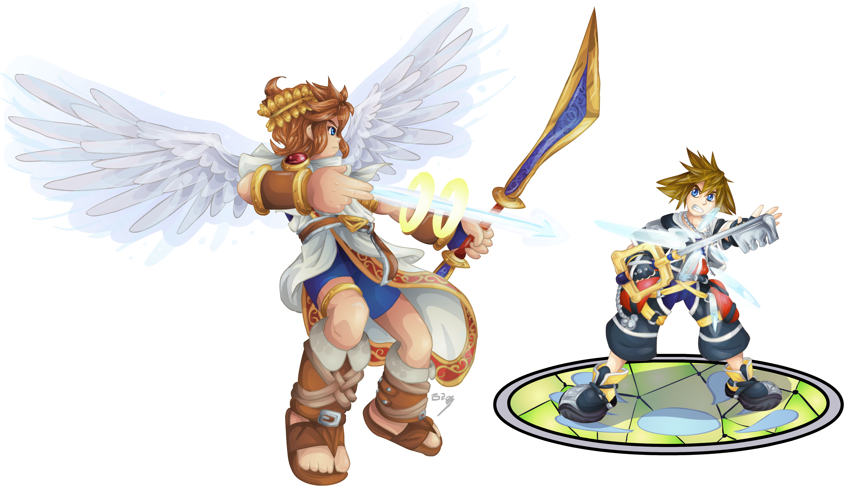 Kid Icarus Favourites By Rune4 On DeviantArt