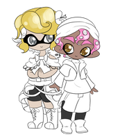 Day 12: Splatoon by Lady-of-Link