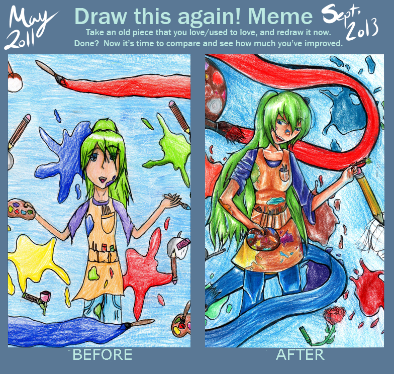 Before and After Meme for real! by KoriNeko18