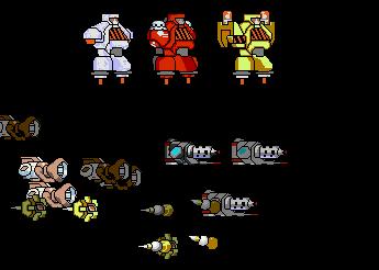 MegaMan Zero Golems (Xtreme Sized)