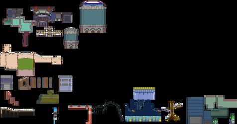 MegaManZero/ZX GBC style tiles