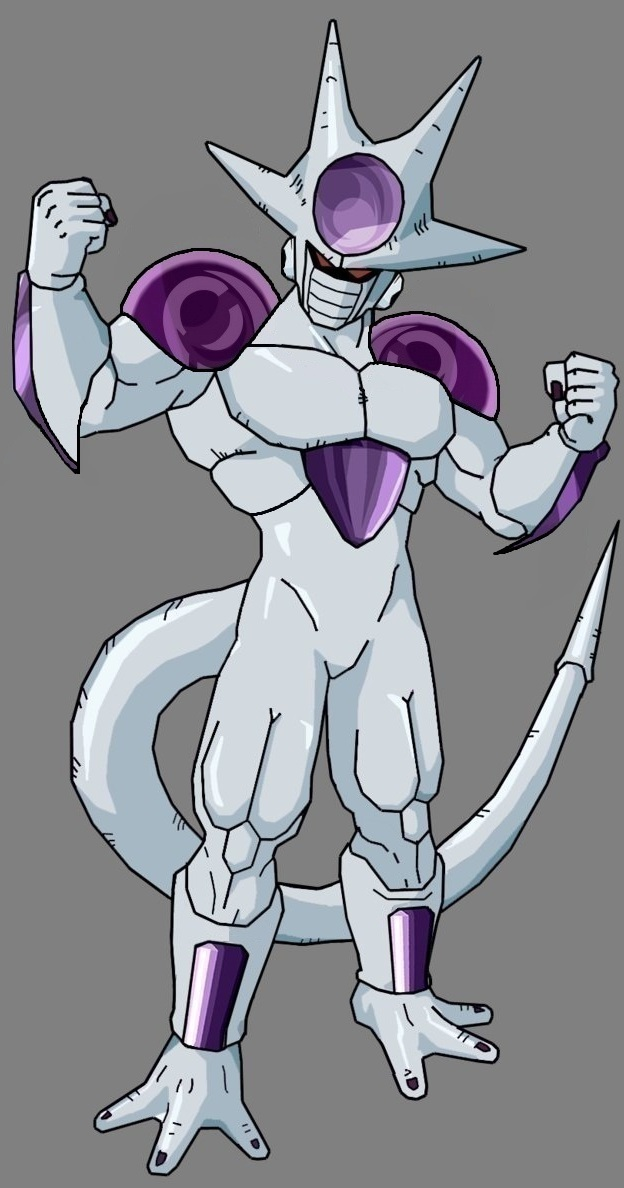 Frieza 5th form V2 by legoFrieza on DeviantArt