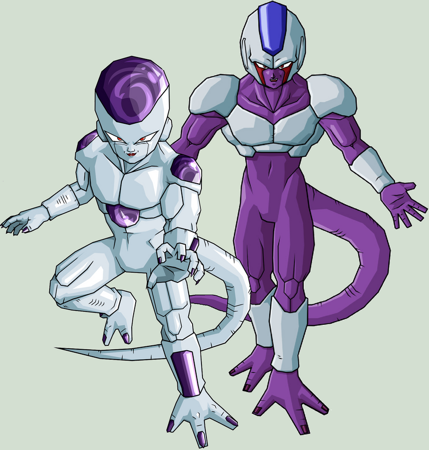 Frieza and Cooler by legoFrieza on DeviantArt