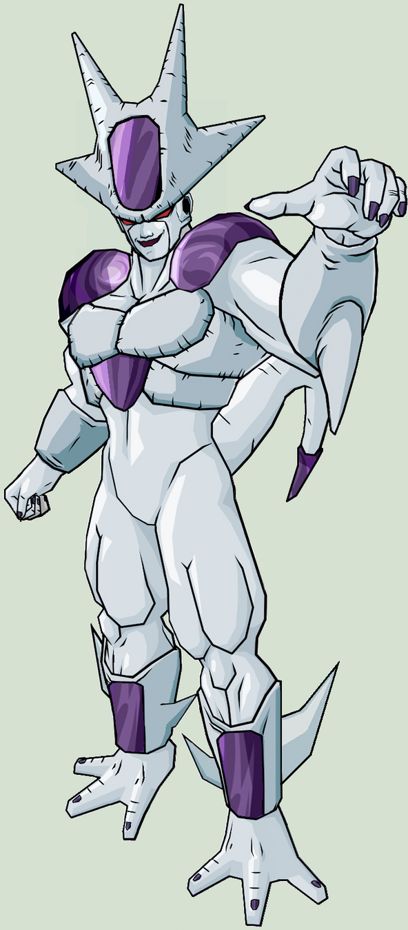 Frieza 5th form V5 by legoFrieza on DeviantArt