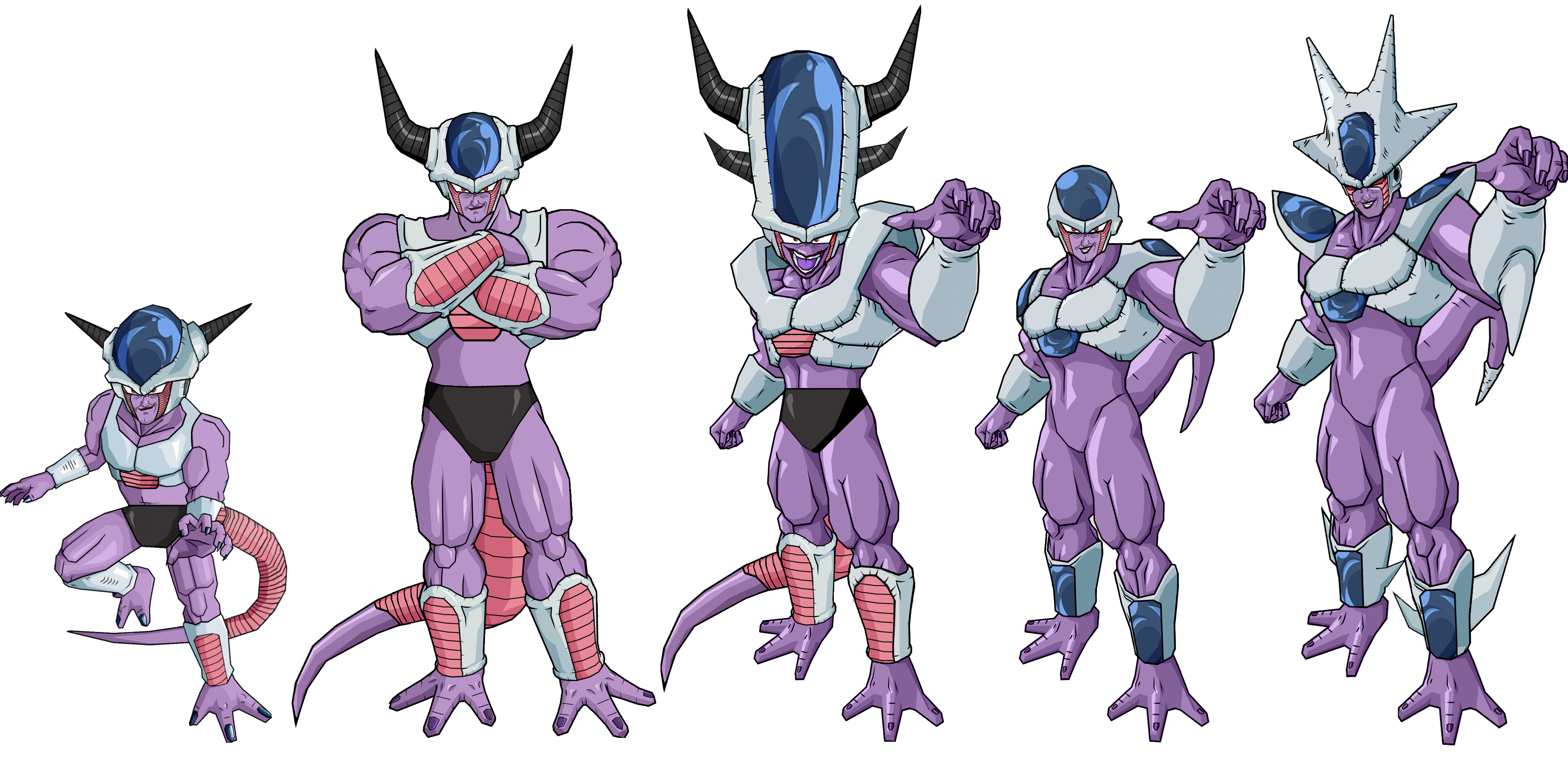 King Cold forms by legoFrieza on DeviantArt