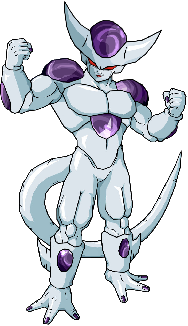 Frieza 5th form V6 by legoFrieza on DeviantArt