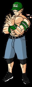 John Cena by legoFrieza